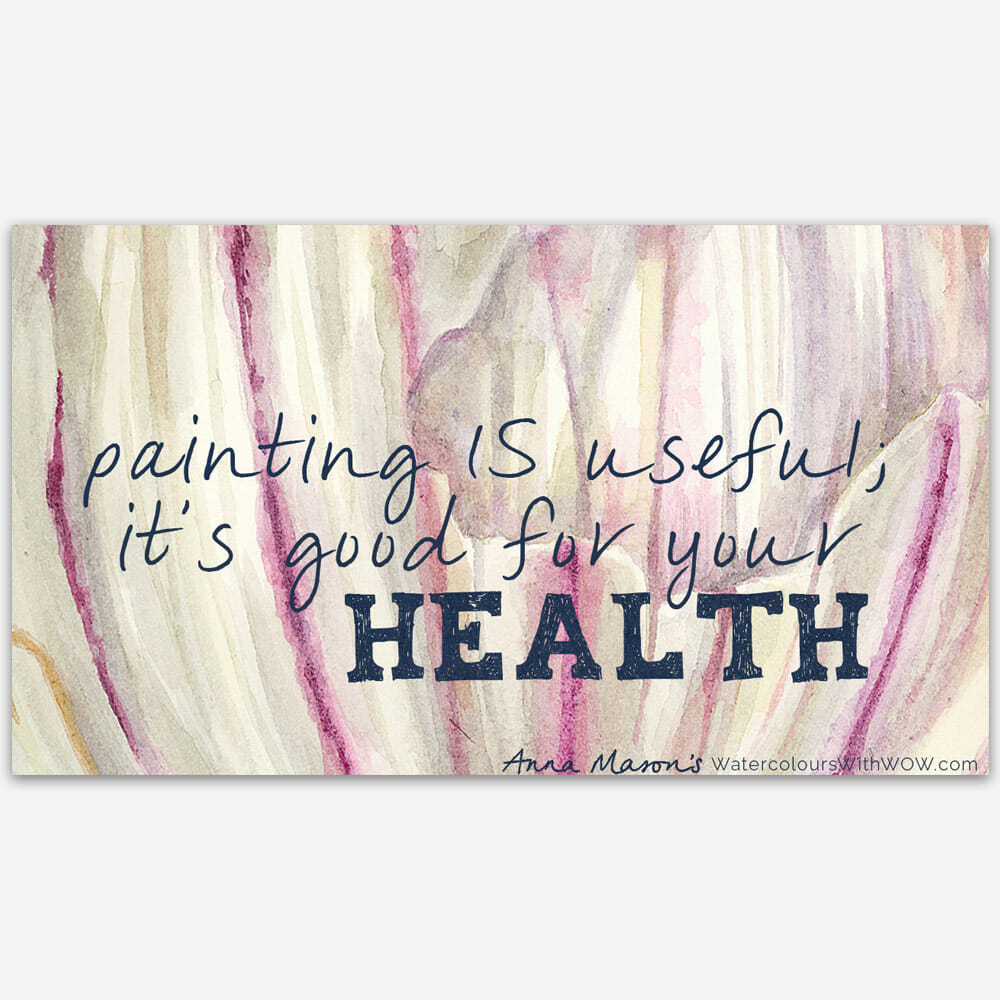 How painting helped me to recover after Cancer
