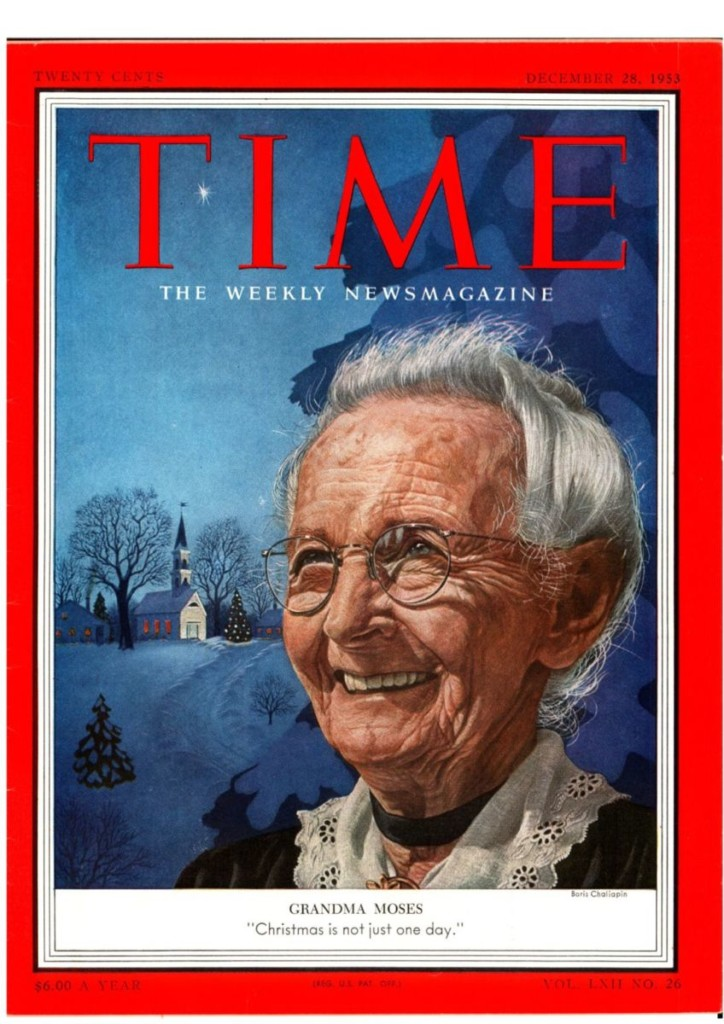 Grandma Moses Cover Time Magazine